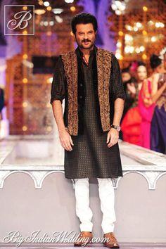Anil Kapoor for Raghavendra Rathore at India Bridal Week 2013