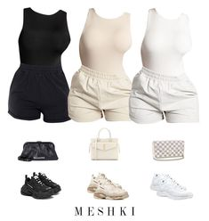 Baddie Outfits Casual, Sporty Outfits, Teen Fashion Outfits, Look Fashion, Stylish Outfits, Teenage Outfits, Cute Lazy Outfits, Trendy Summer Outfits, Cute Swag Outfits