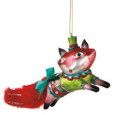 Festive Fox Ornament – BRIARWOOD