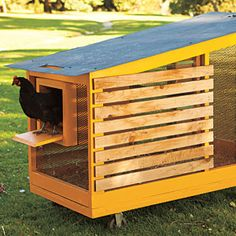 The Tractor - Super-Stylish Chicken Coops - Sunset Mobile