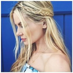 Your Ultimate Summer Braid Guide, Straight From Instagram ❤ liked on Polyvore featuring hair