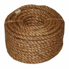 Evans Cordage in. x 100 ft. 5 Star Manila Rope, Browns/Tans T. Evans Cordage in. x 100 ft. Dollar Tree Storage Bins, Outdoor Curtains For Patio, Manila Rope, Evans, Mason Jar Flowers, Flower Pots, Sisal Rope, Rope Twist, Cat Scratching Post