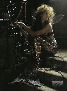 mermaid by Tim Walker