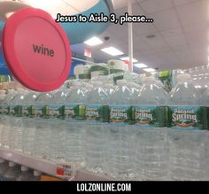 Jesus To Aisle 3, Please...