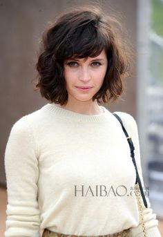 bangspiration. versatile cut so that you can swing to one side and create a parted look.