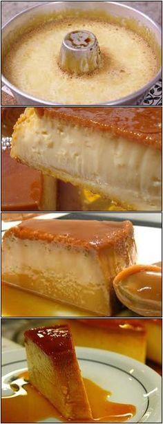 O Melhor Pudim De Leite Condensado!! veja AQUI>>>Bata tudo no liquidificador. Coloque em forma untada com açúcar #receita#bolo#torta#doce#sobremesa#aniversario#pudim#mousse#pave#Cheesecake#chocolate#confeitaria