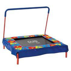 """Pure Fun 36"""" Square Kids' Trampoline - Multicolor"""