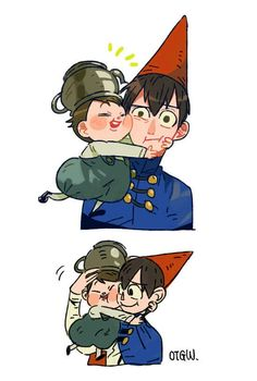 """Wirt and Greg  (-w-) """"Cute.."""""""