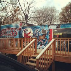 Check out Santa's Pub for some down right karaoke fun!