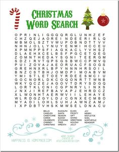 Christmas Word Search 72