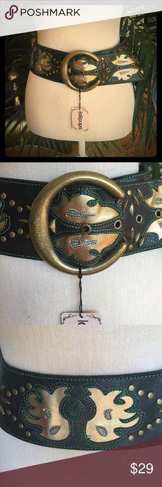 """🎉HOST PICK🎉Lollipops Paris belt New, lollipops Paris belt, with studs embellishments, size 33.4"""" Lollipops Paris Accessories Belts"""