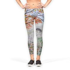 Old tree animal Leggings by Florian Ivan (@TICU) from €37.00 | miPic