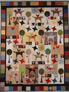 Best Friends Quilt by Pipersgirls on Etsy, $875.00 Original Display is for Sale to a good home.