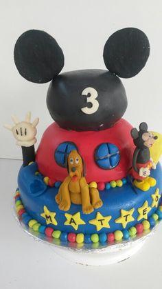 Club Mickey cake