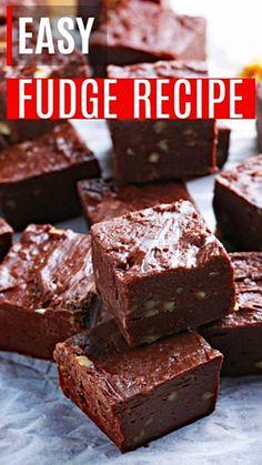 Easy Chocolate Fudge, Nutella Fudge, Chocolate Chip Recipes, Vegan Fudge, Chocolate Chips, Condensed Milk Recipes, Coconut Fudge Recipe Condensed Milk, Fudge With Condensed Milk, Peanut Recipes