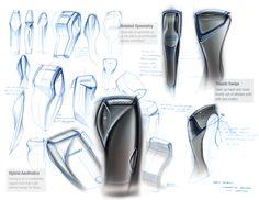 Braun Electric Shaver by Ben Adams-Keane, via Behance #waxing…