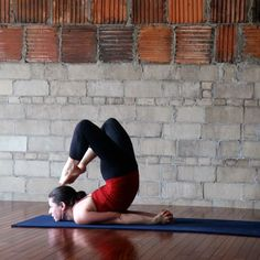 "Challenging ""awkward"" yoga poses.  New to-do list.  Gives a good description of how to get into them."