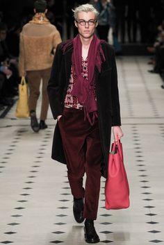 Burberry Prorsum Fall 2015 Menswear Fashion Show