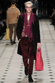 Burberry Prorsum Fall 2015 Menswear Fashion Show