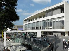 Royal Festival Hall, London, New Riverside Terrace Allies and Morrison