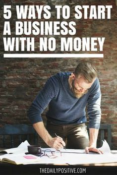 I'm here to show you that your business idea IS possible with little to no money involved up front. Here are 5 ways to start a business with NO money. Great Business Ideas, Business Tips, Online Business, Business Motivation, Creative Business, Cv Inspiration, Importance Of Time Management, Financial Tips, Freedom Financial