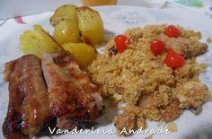 Culinária-Receitas - Mauro Rebelo: Costelinhas com Batatas e Farofa