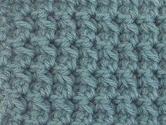 crochet stitch - trinity