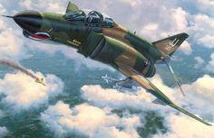 F-4E downs a MIG over Nam