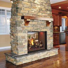 Monessen Covington Series See-Thru Direct Vent Fireplace System