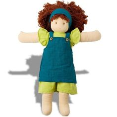 My new obsession, need a few of these for baby Avery. Waldorf Dolls by Peppa, Fair Trade, Girl, Cara