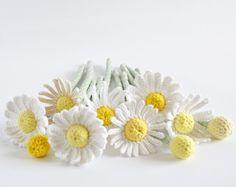 Chamomile Bouquet DIY PDF English Crochet Pattern by CrochetObjet