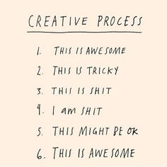 So accurate! ✨(although my recent process with colour is currently stucked between stage 2 and 5...). Thank you @lidolclaudia for sharing!