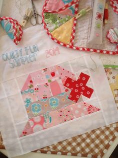 Quilty Fun Sew Along & Blog Tour: Finished Sampler Quilt