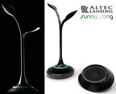 Altec Lansing Sunny Song Speakers Concept by Tryi Yeh
