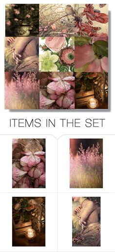 """In A Garden"" by lvoth ❤ liked on Polyvore featuring art"