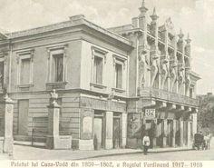 Iasi - Palatul Cuza - antebelica Vintage Photographs, Old Photos, Moonlight, Past, Survival, Places To Visit, Louvre, Street View, Urban