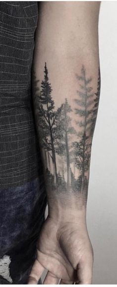 Tattoo forearm for guys quotes new ideas - tattoos & piercing& - . - Tattoo forearm for guys quotes new ideas – tattoos & piercing& – ร ผ r # - Tree Line Tattoo, Tree Tattoo Arm, Forearm Sleeve Tattoos, Forearm Tattoos For Guys, Men Flower Tattoo, Tattoo Ribs, Rib Tattoos, Shoulder Tattoos, Forest Tattoo Sleeve