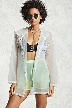 Transparent Nylon Jacket
