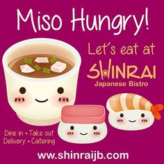 Dine in, take out, delivery, catering www.shinraijb.com #shinrai #shinraijb…