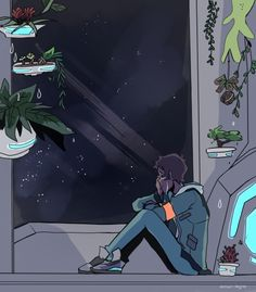 """""""It's okay to be homesick"""" by arrival-layne -- Lance"""