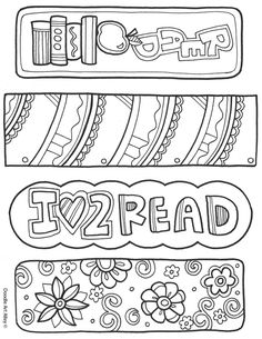 She has sooooo many cute colouring pages! From Saturn to wedding to rules to bookmarks.
