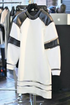 Alexander Wang- super sporty look with cut out, leather, and bold kind of looks