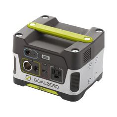 If you are a prepper or camper, you should check out the GoalZero product line.  This unit is a solar generator that allows you to connect a solar panel and always have enough power to charge you phones, tablets, laptops or even run small appliances.  And if you shop around you can find some great prices.  Check out our review video on this product..  http://youtu.be/RyN26BVj5dk