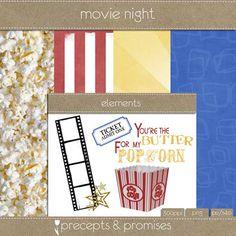Movie Night Mini Kit Daily Download