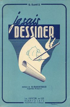 je sais dessiner Vintage Packaging, Vintage Book Covers, Drawing Techniques, Drawing Tutorials, Printed Matter, Rhone, Book Journal, French Art, Line Drawing