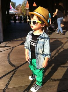Children with Swag!  Scrolling through this site makes me smile :)