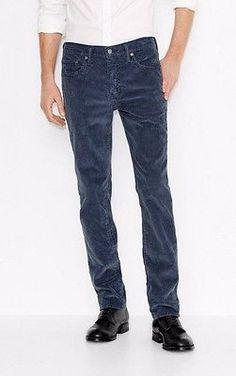 LEVIS-511-mens-Corduroy-pants-CORDS-SLIM-FIT-STRETCH-style-045111768-BLUE