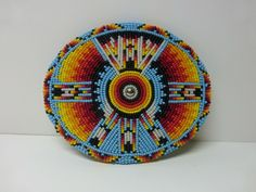 X 3 in. See pictures for condition. Native Beadwork, Native American Beadwork, Native American Art, American Crow, Diy Belts, Flower Belt, Bead Loom Bracelets, Bead Loom Patterns, Hippie Art