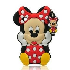 3D Cartoon Mouse Silicon Case Cover + Touch Pen for iPod Touch 4/4g/4th Generation