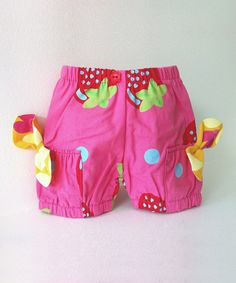 Another great find on #zulily! Pink Berry Shortcake Bubble Doll Shorts #zulilyfinds